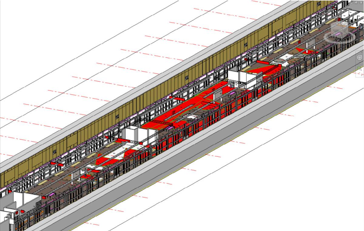 Visualization Of Cctv Coverage In Public Building Space Using Bim Simple Dc Circuit Model Train Advisors Open Image New Window