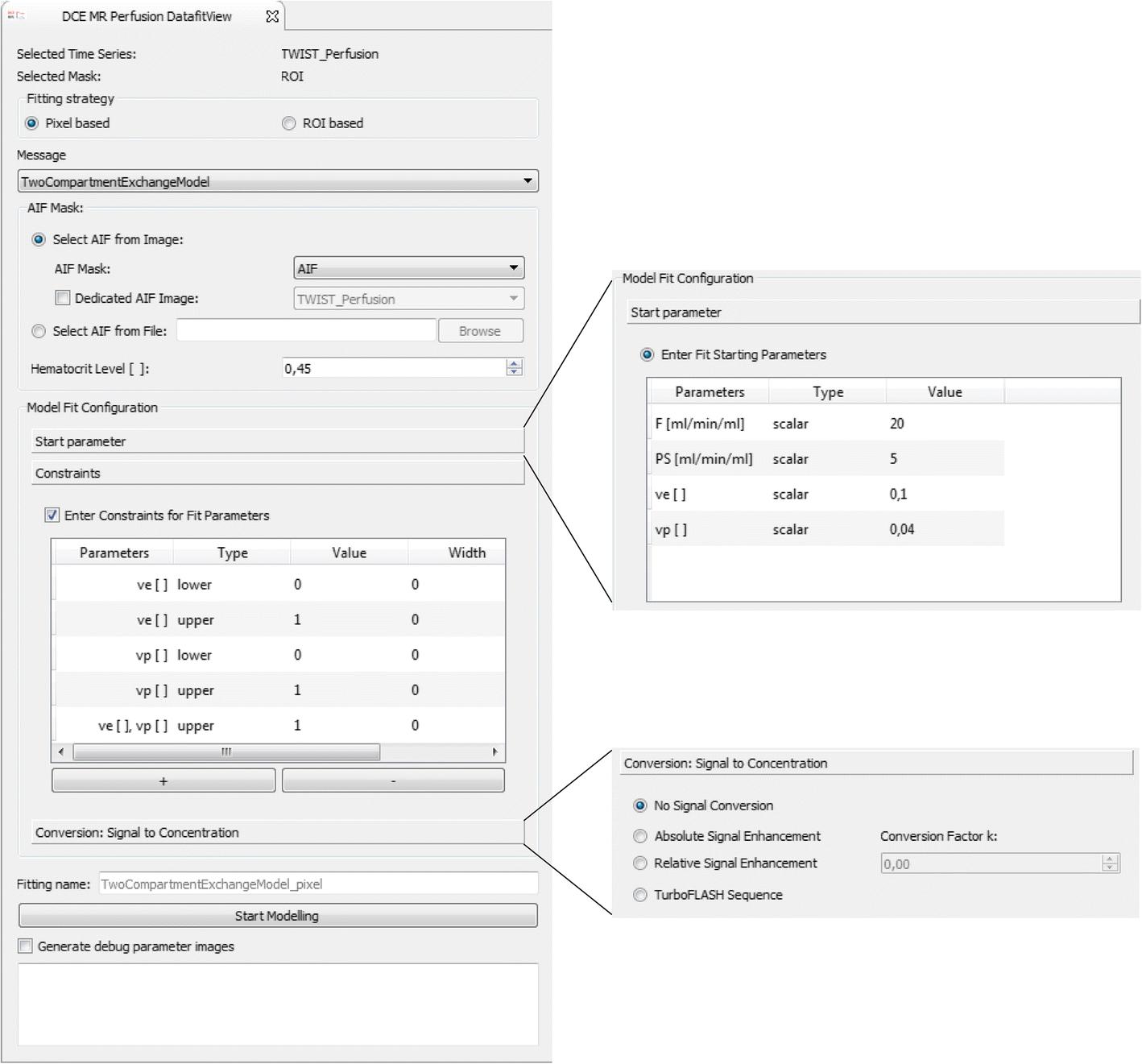 MITK-ModelFit: A generic open-source framework for model fits and