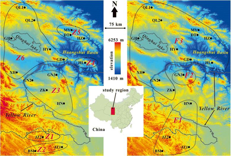 Comparative phylogeography of the plateau zokor ( Eospalax baileyi ...