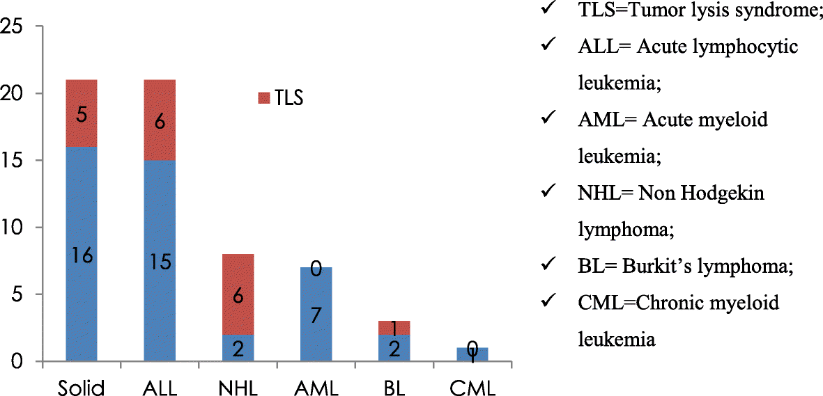Evaluation and characterization of tumor lysis syndrome before and