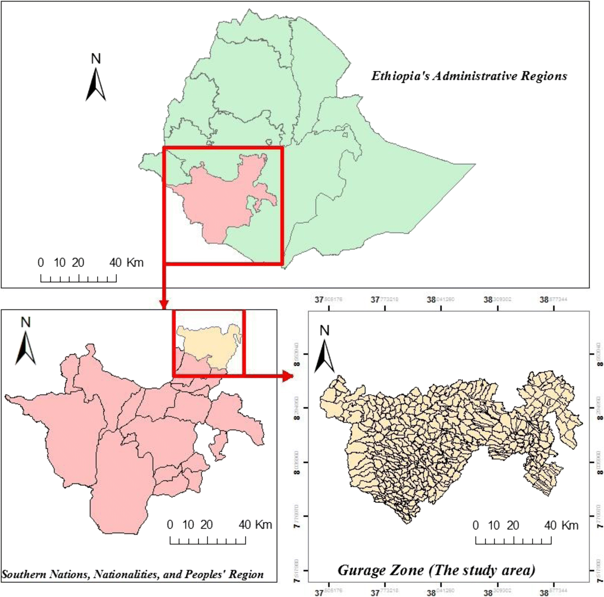 Estimating the spatial risk of tuberculosis distribution in