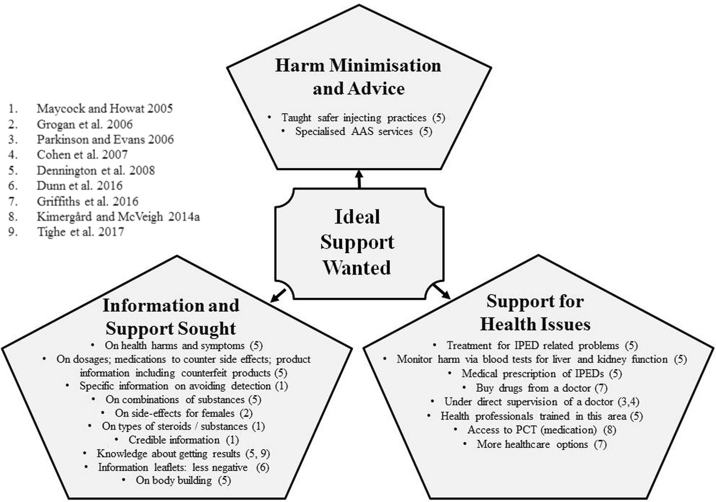 Support for people who use Anabolic Androgenic Steroids: A