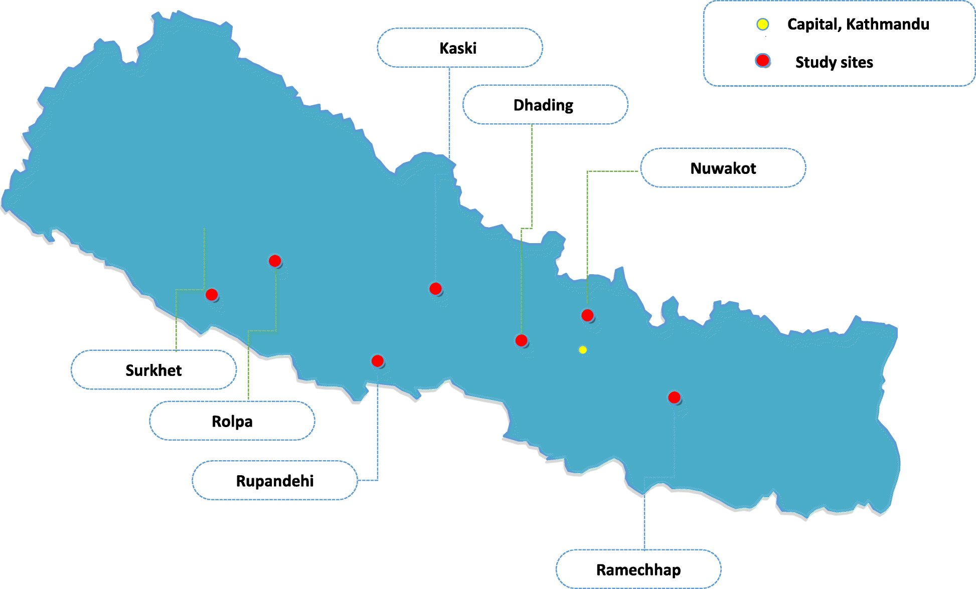 Impact of a structured yoga program on blood pressure ... on map of rukum, map of bhaktapur, map of surkhet, map of parsa, map of dolpa, map of doti, map of solukhumbu, map of jhapa, map of dailekh, map of gulmi, map of dang, map of baitadi, map of birgunj, map of makwanpur, map of humla, map of dhankuta, map of sindhupalchok,