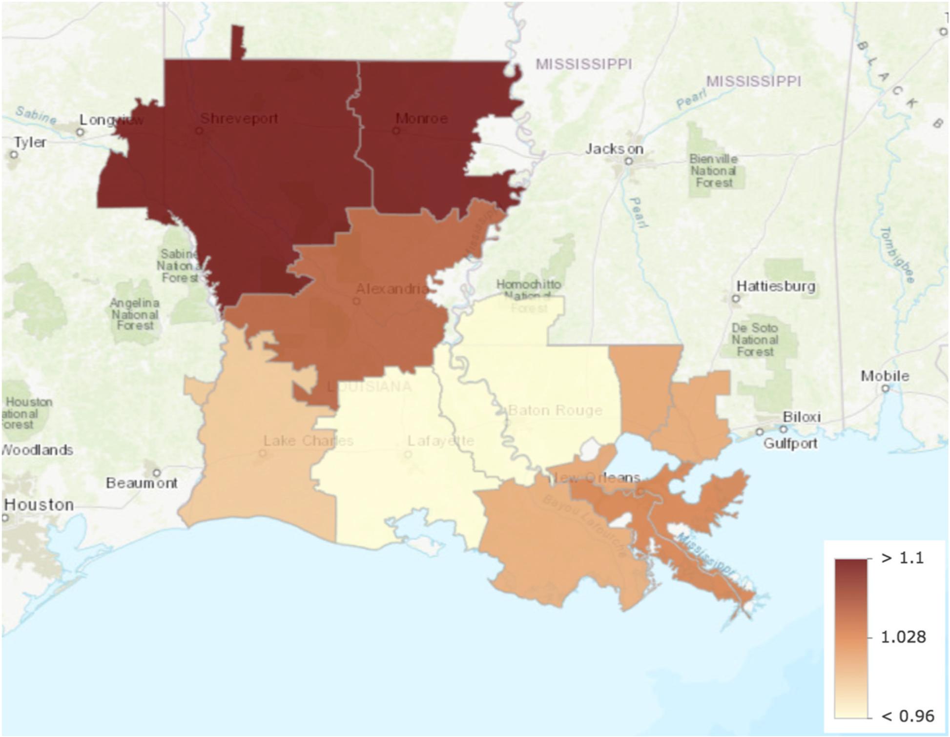 Healthcare spending in the State of Louisiana | SpringerLink