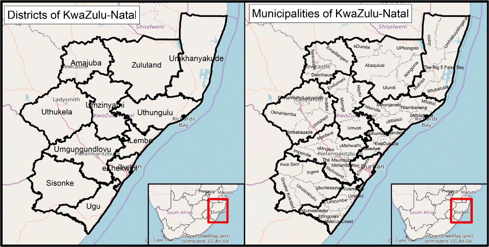 Assessing Kwa-Zulu-Natal's progress towards malaria
