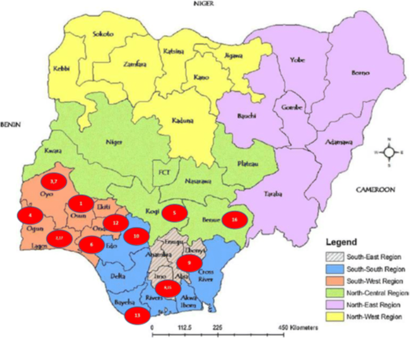 Healthcare workers' industrial action in Nigeria: a cross