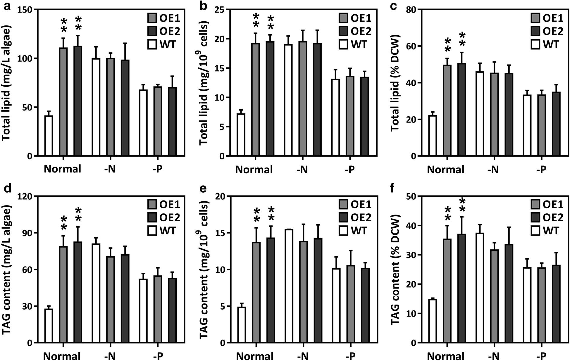 Dual expression of plastidial GPAT1 and LPAT1 regulates