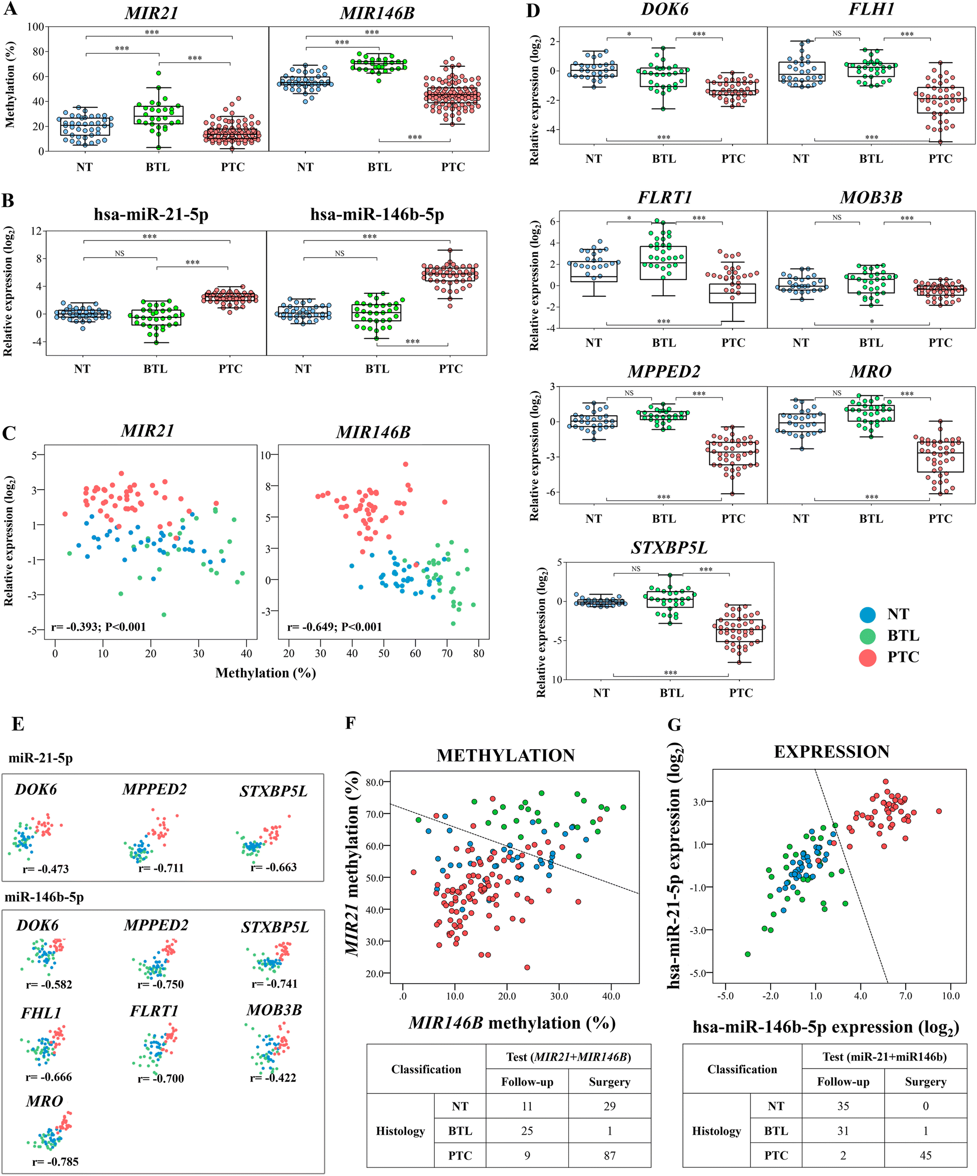 Loss of DNA methylation is related to increased expression