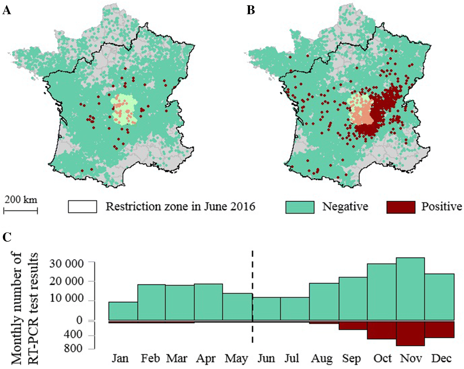Quantifying bluetongue vertical transmission in French