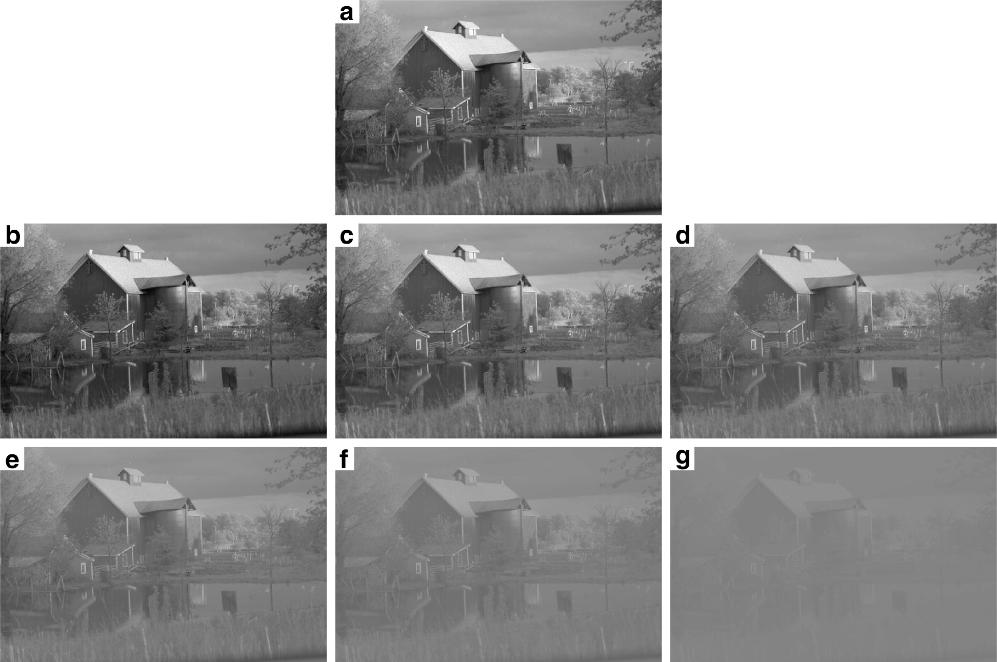 Machine learning hyperparameter selection for Contrast