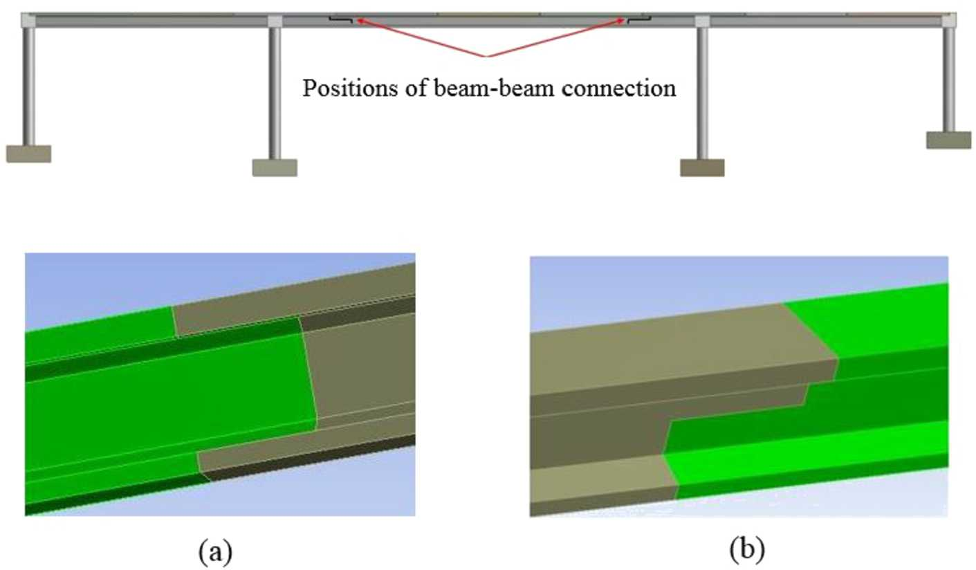 Effect of beam joinery on bridge structural stability | SpringerLink