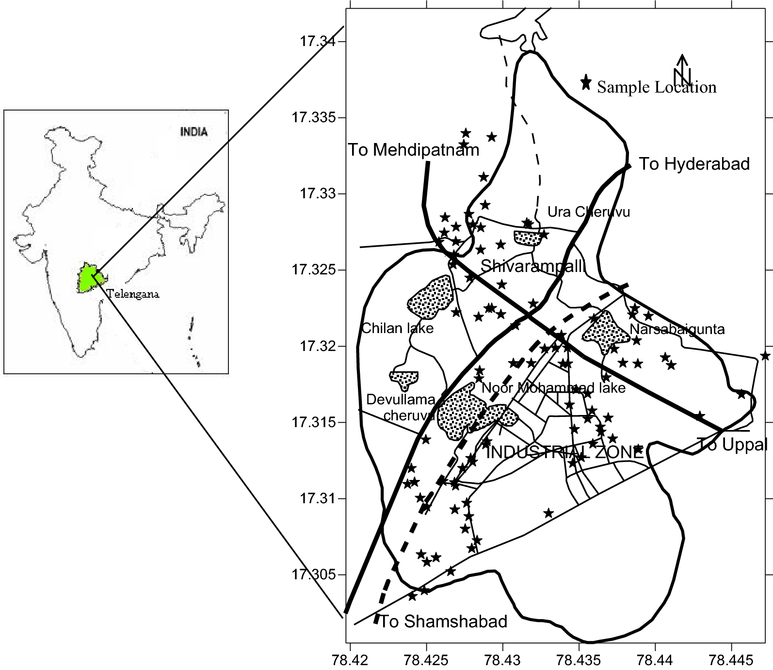 Assessment of groundwater quality, toxicity and health risk in an