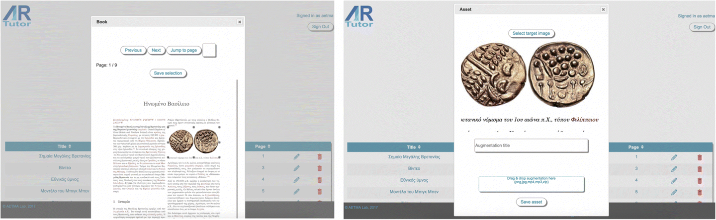 Evaluation of the ARTutor augmented reality educational platform in