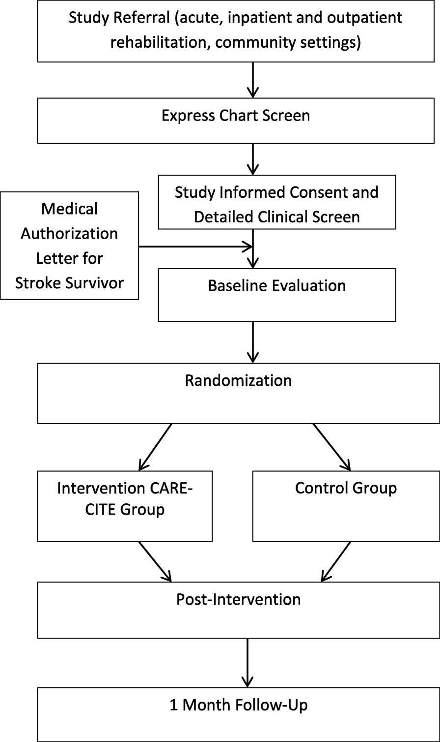 A web-based carepartner-integrated rehabilitation program