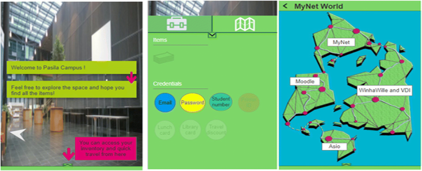 An interactive and augmented learning concept for