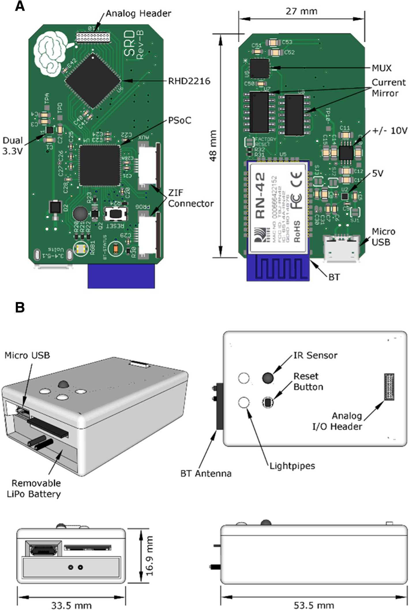 Telemetry-controlled simultaneous stimulation-and-recording
