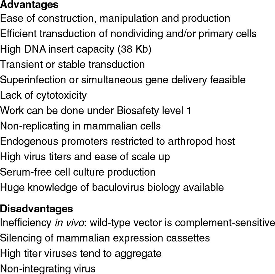 Baculovirus Vectors | SpringerLink