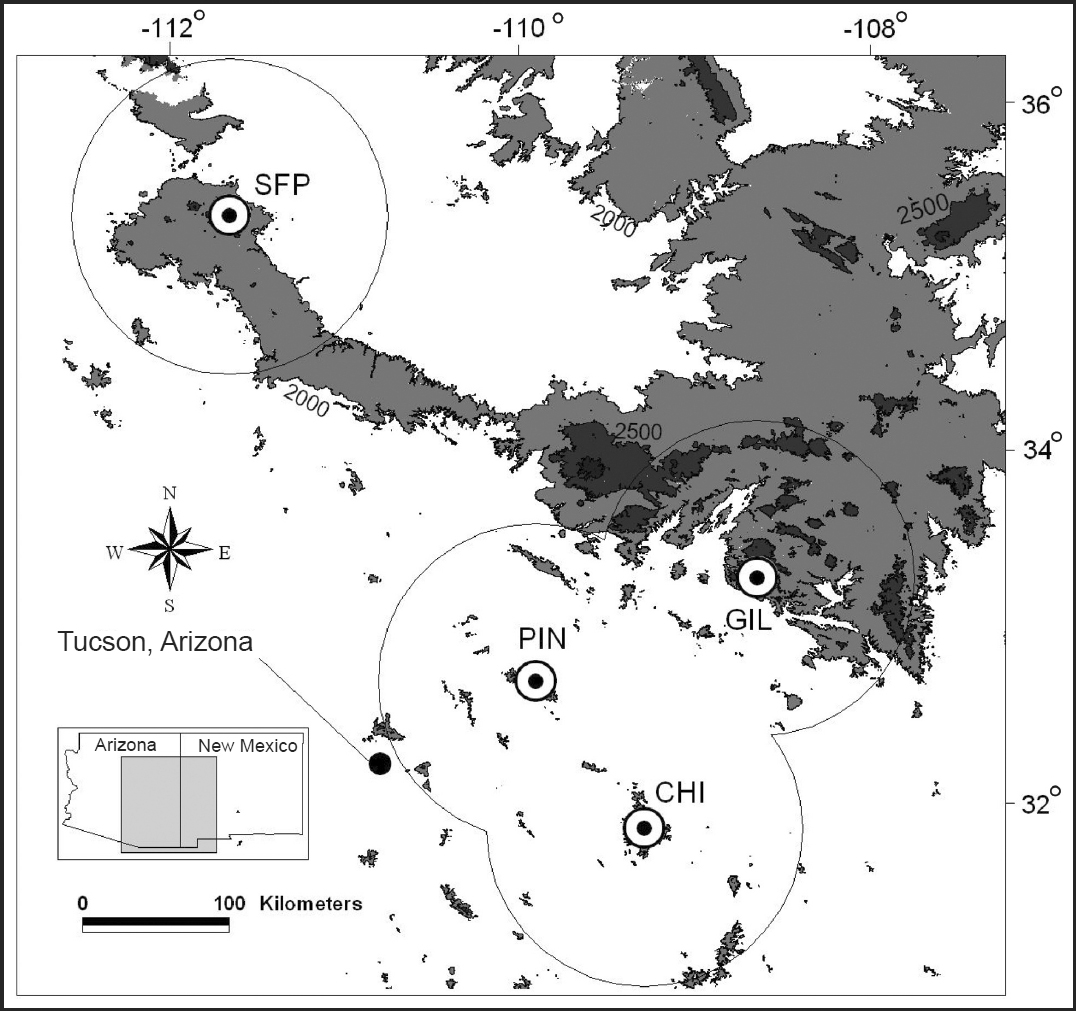 Historical Stand-Replacing Fire in Upper Montane Forests of ... on