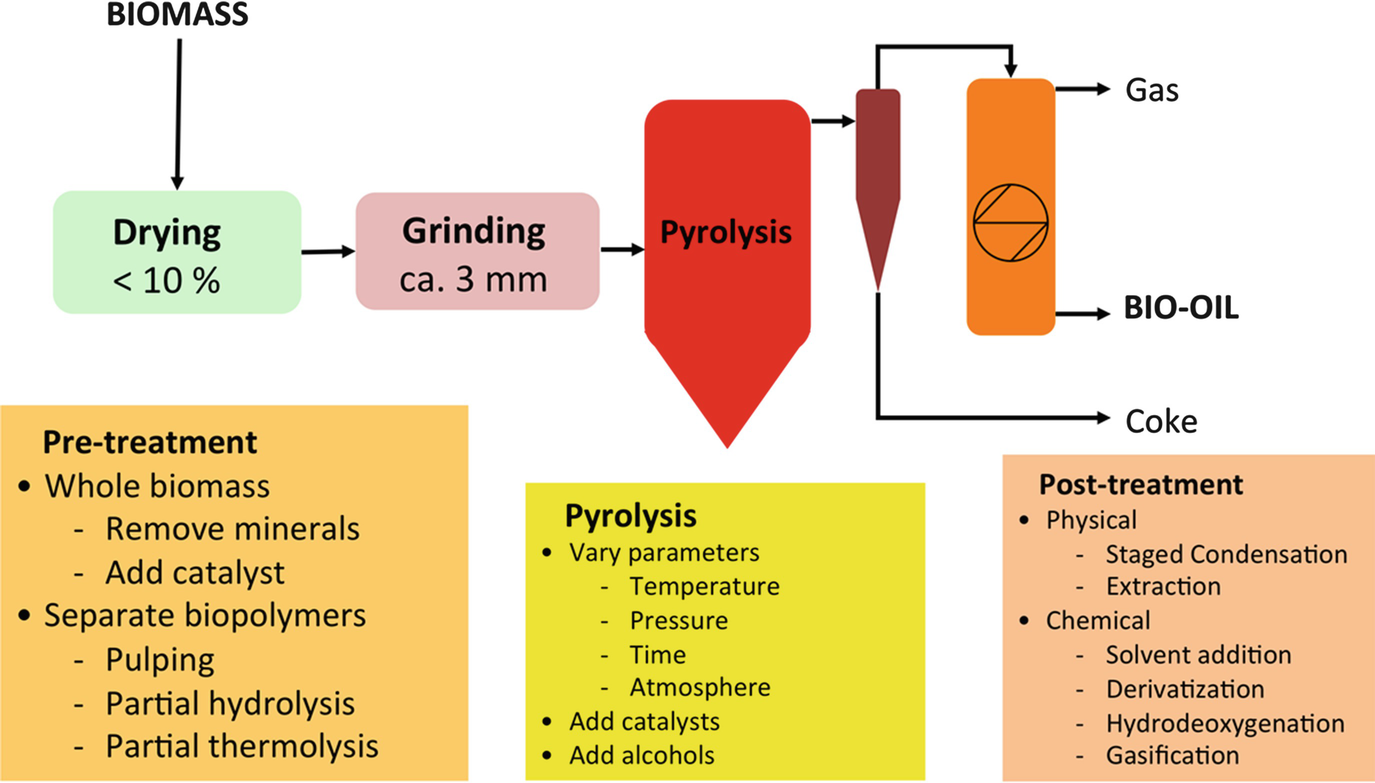Pyrolysis Oil Biorefinery | SpringerLink