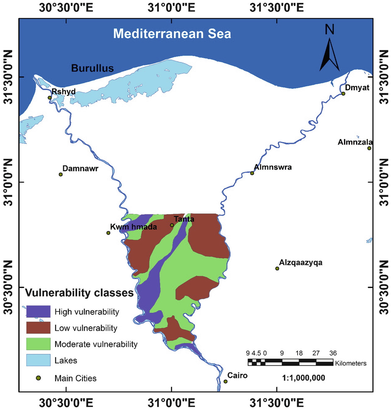 Land and Groundwater Resources in the Egypt's Nile Valley ...