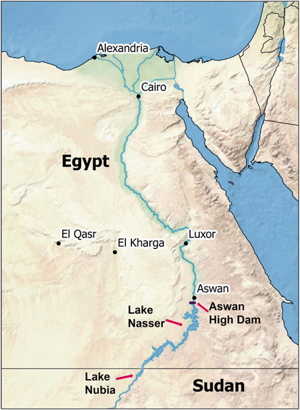 An Overview Of Aswan High Dam And Grand Ethiopian Renaissance Dam