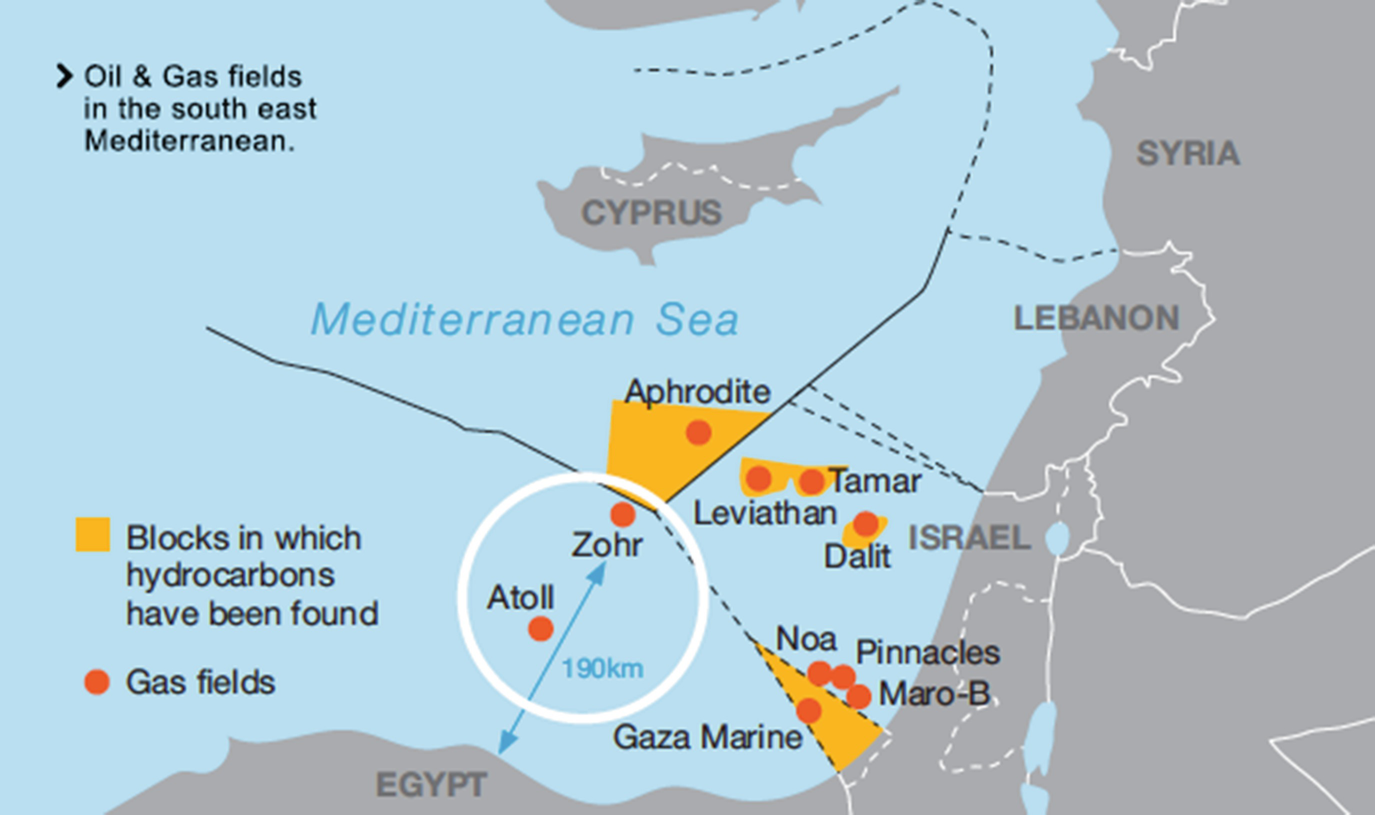 Oil and Gas Exploration and Production in the Mediterranean Sea