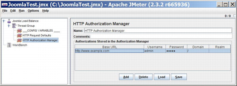 Testing a Site with ApacheBench, JMeter, and Selenium