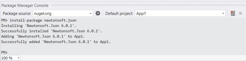 Newtonsoft Json Already Has A Dependency Defined For