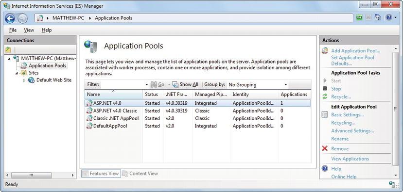 Iis Application Pool Keeps Stopping