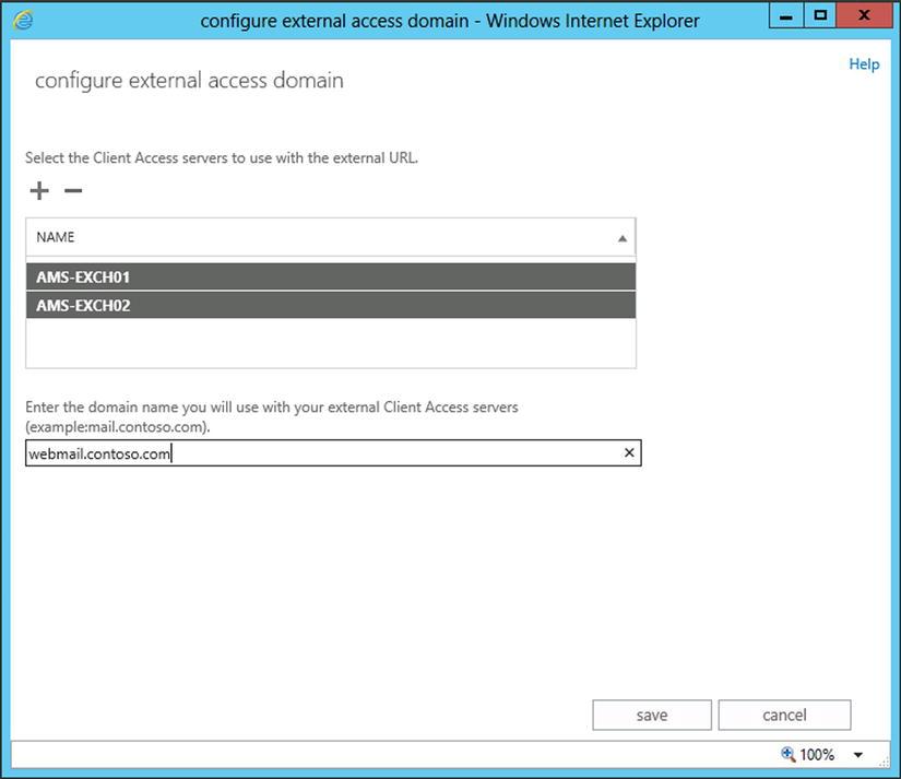 Installing Exchange Server 2013 | SpringerLink