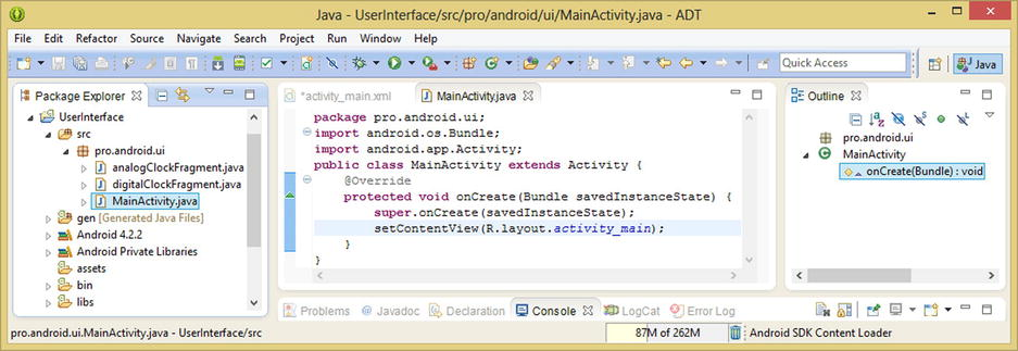 Android's FrameLayout Class: Using Digital Video in Your UI