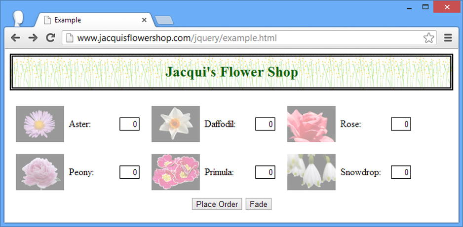 Using jQuery Effects | SpringerLink