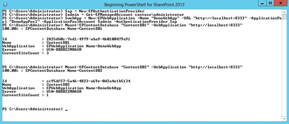 Upgrading from SharePoint 2010 to 2013 Using PowerShell