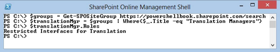 Managing Office 365 SharePoint Online with PowerShell