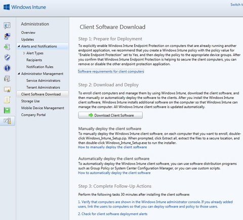 Software Center Download Location Windows 10