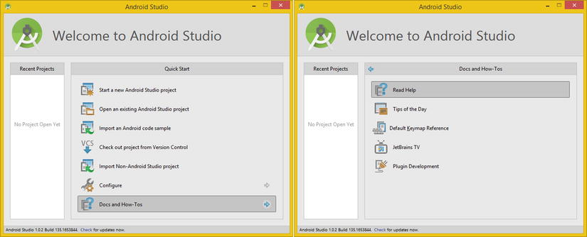 Exploring Android Studio: Getting Familiar with the IntelliJ