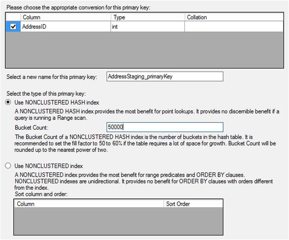 Memory-Optimized OLTP Tables and Procedures | SpringerLink