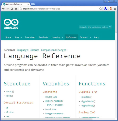 Arduino IDE and Wiring Language | SpringerLink