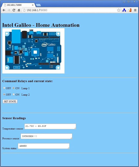 Home Automation and Dynamic Web   SpringerLink