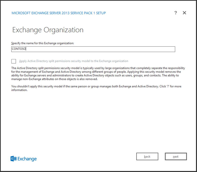 Installing Exchange Server 2013 | SpringerLink
