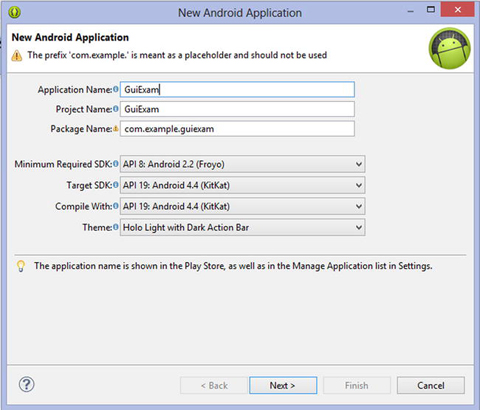GUI Design for Android Apps, Part 2: The Android-Specific GUI