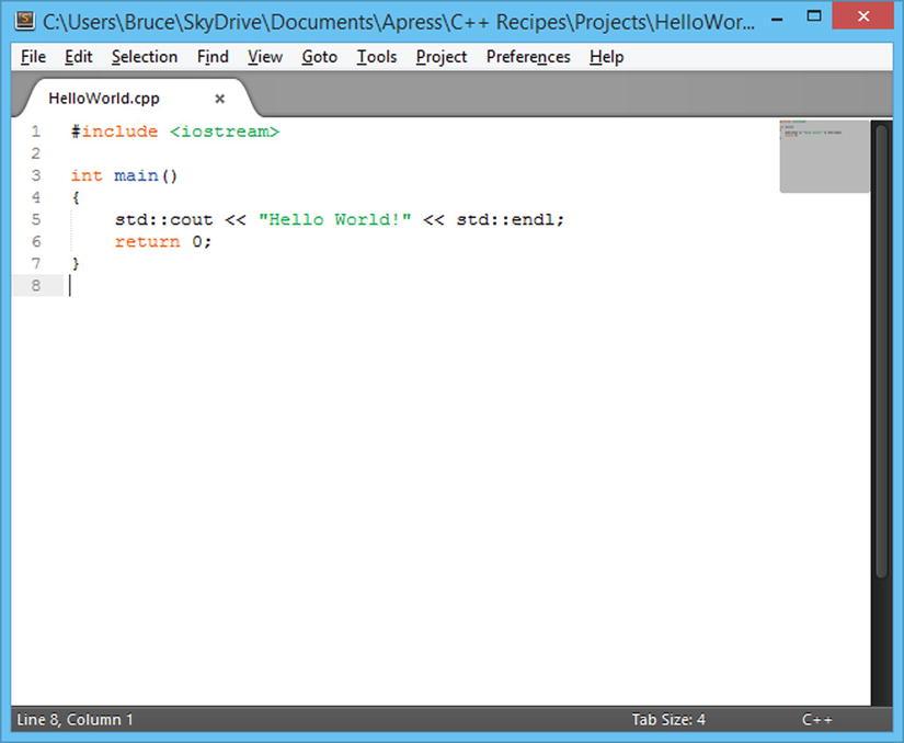 Chapter 1: Beginning C++   SpringerLink