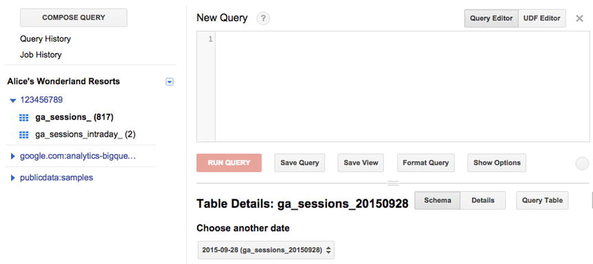 Using Google Analytics with BigQuery for Big Data Analysis