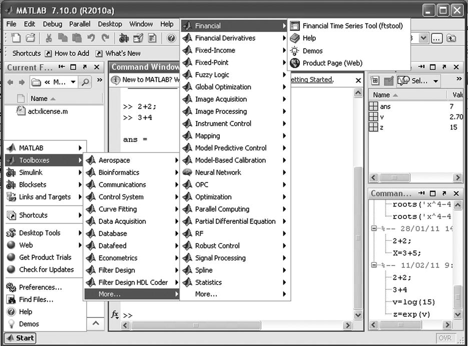 Introducing MATLAB and the MATLAB Working Environment | SpringerLink