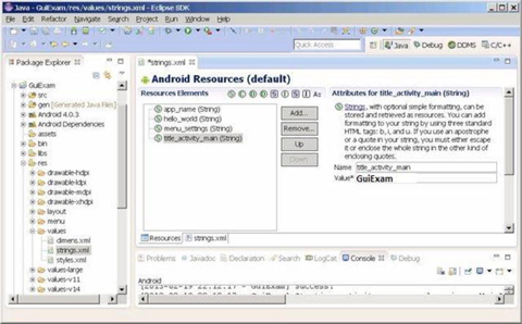 GUI Design for Android Apps, Part 4: Graphic Interface and