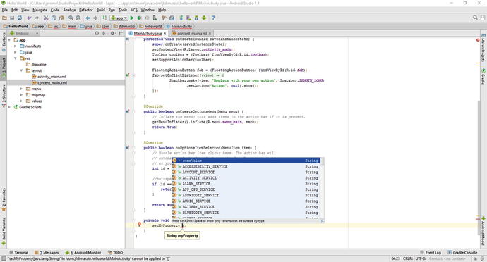 First Steps with Android Studio | SpringerLink