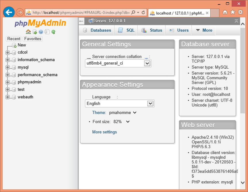 Installing XAMPP and Joomla | SpringerLink