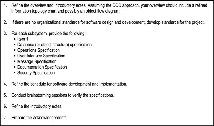 Overview Of Software Design Springerlink