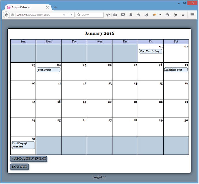 Editing the Calendar with AJAX and jQuery | SpringerLink