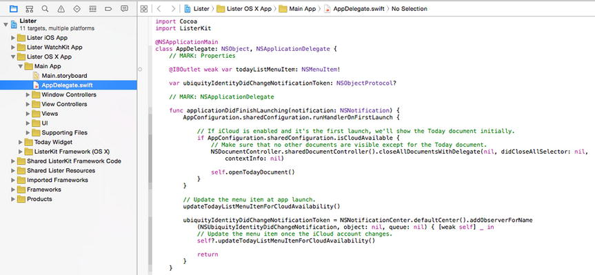 Getting to Know Xcode | SpringerLink